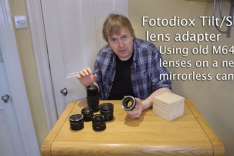 Video: Fotodiox tilt-shift adapter for MF lenses