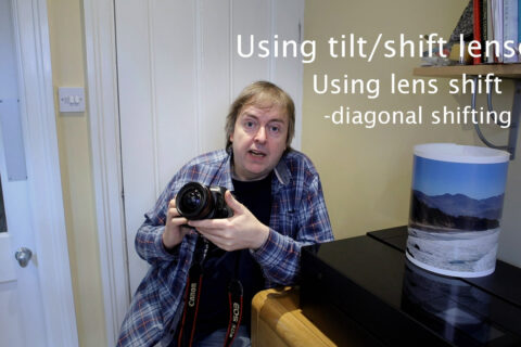 Video: tilt/shift lens basics - diagonally shifted images