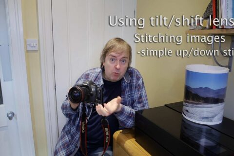Video: tilt/shift lens basics - stitching shifted images