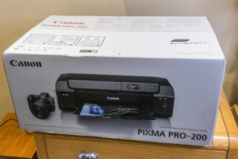 Canon PRO-200 setup