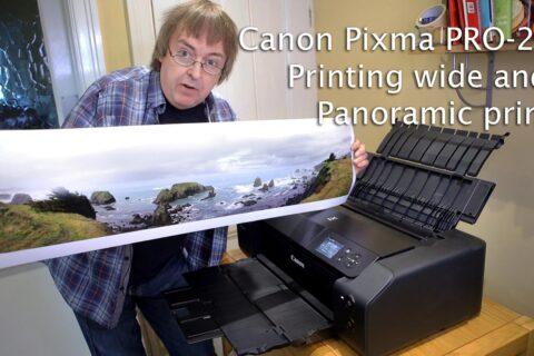 Video: Panoramic printing  PRO-200