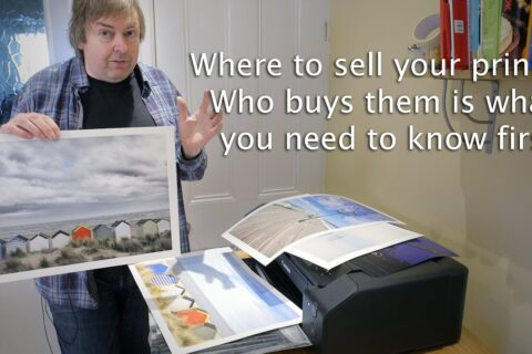 Video: So, you want to sell your prints?