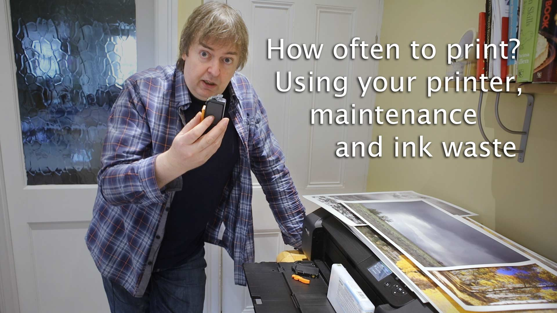 How often do you need to use your printer