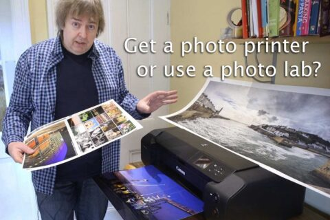 Video: Get a printer or use a photo lab?