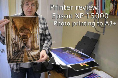 Video: Epson XP-15000 review