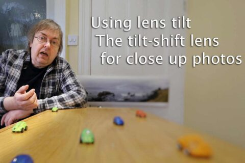 Video: lens tilt used close up