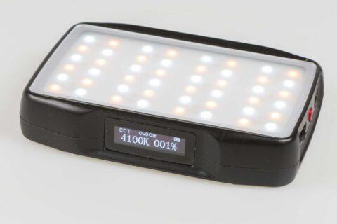 Review Falcon Eyes F7 mini LED lamp