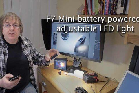 Video: Falcon Eyes F7 mini LED lighting