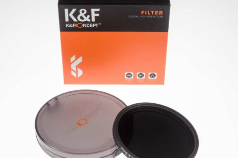 K&F ND2-32 variable ND filter review