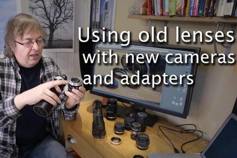 Video: Using old lenses on modern cameras