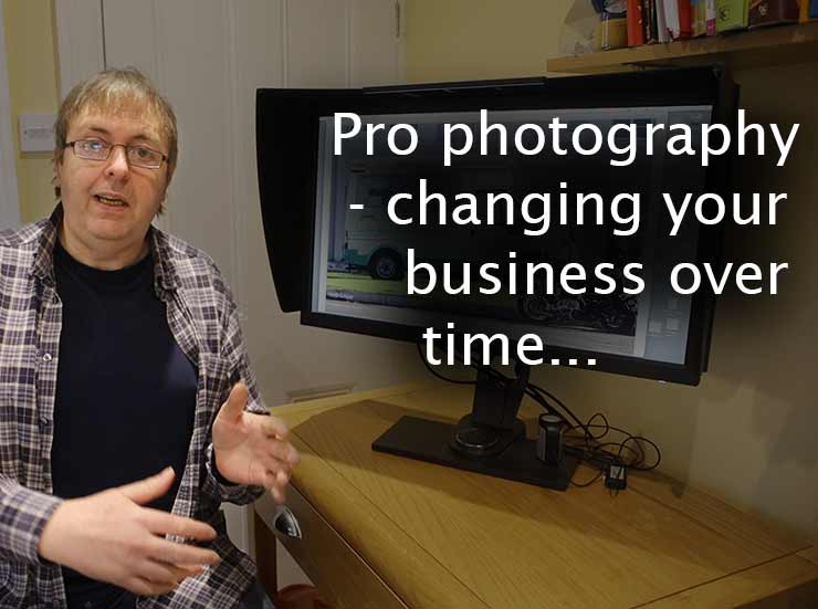 Pro photography - how your business changes over time