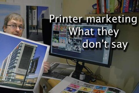Video: What printer marketing doesn't tell you