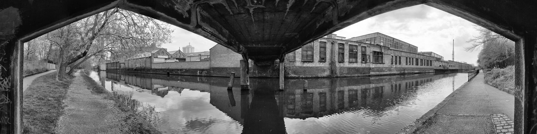 Canal bridge in Leicester