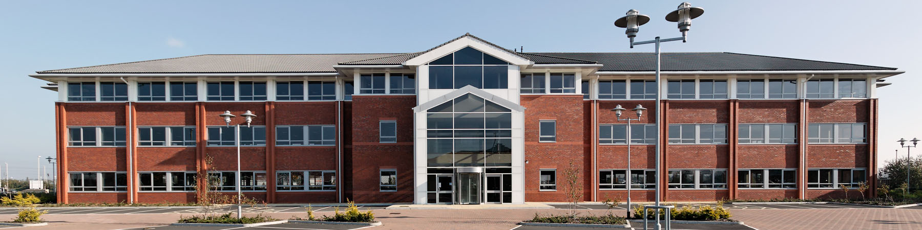 Office building on business park